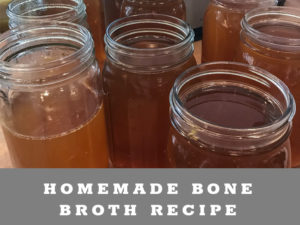 Homemade Bone Broth Recipe