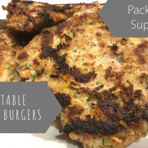 Super Healthy Veggie Turkey Burger Recipe