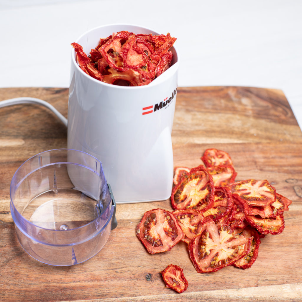 Spice Grinder to Powder Tomatoes
