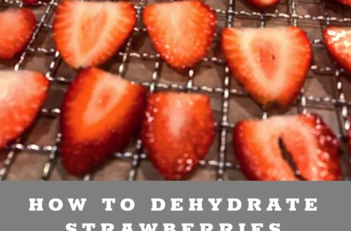 How to Dehydrate Strawberries