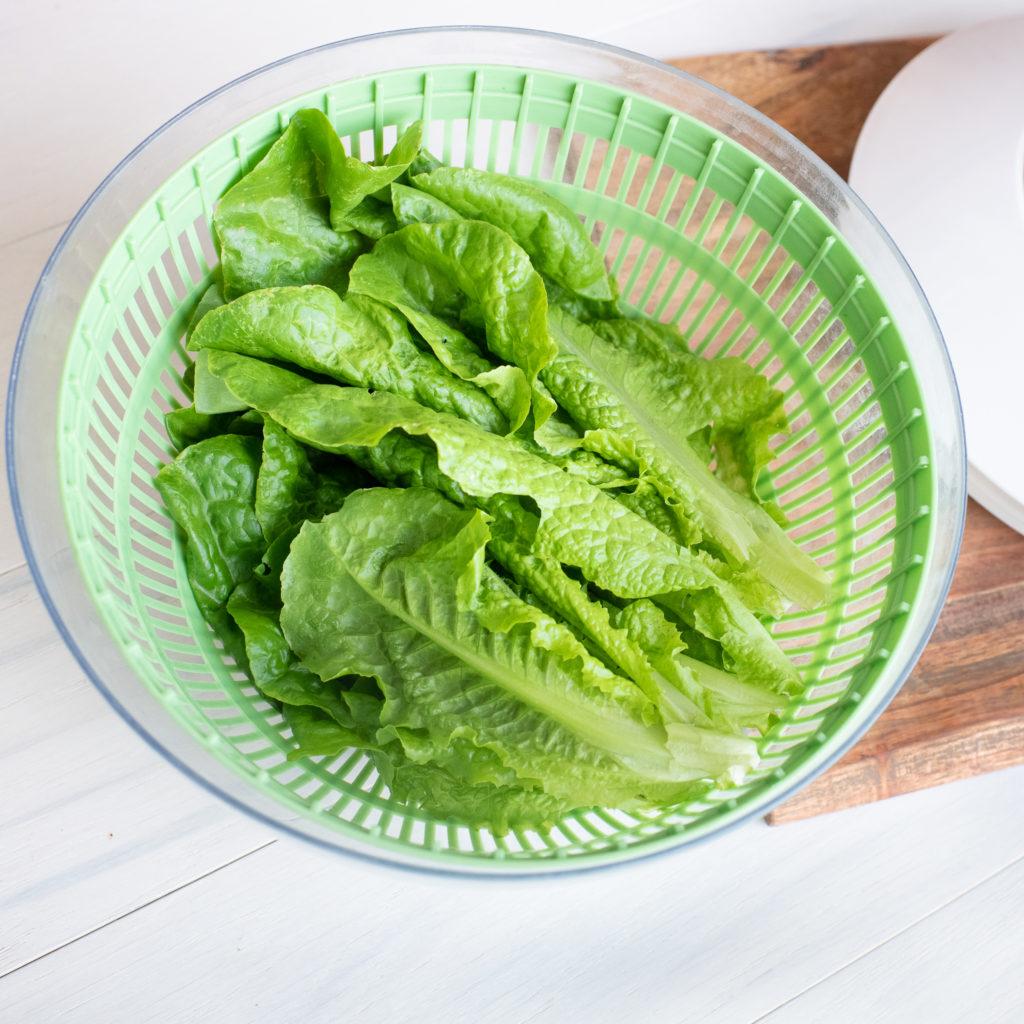 salad spinner to wash lettuce