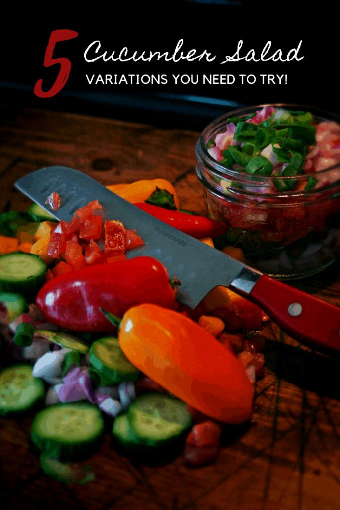 5 simple cucumber recipes