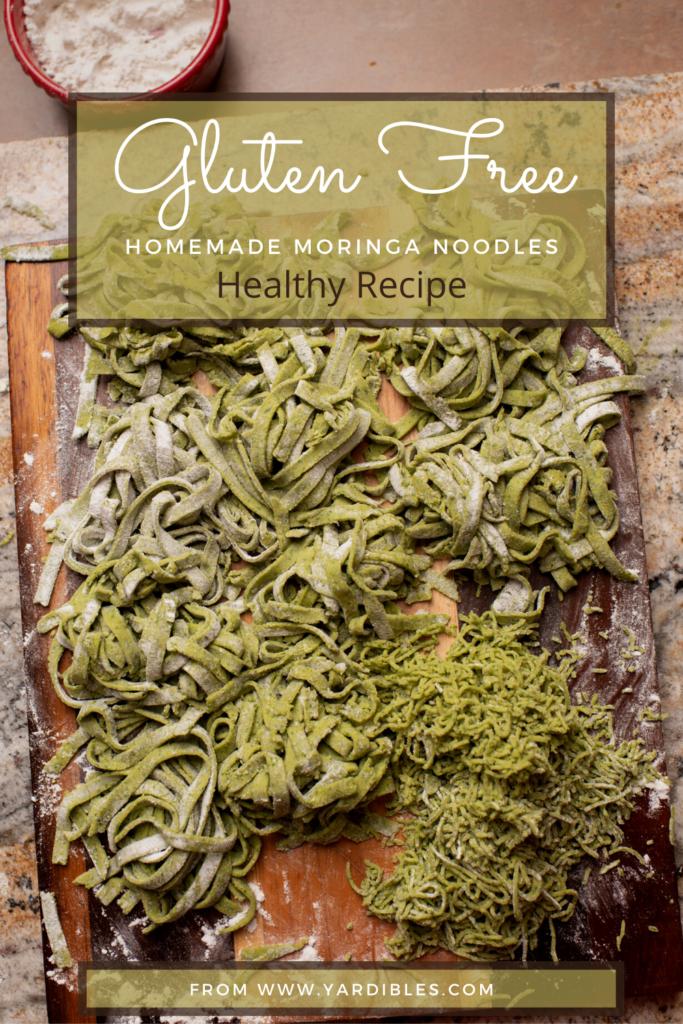 Gluten Free Moringa Noodles