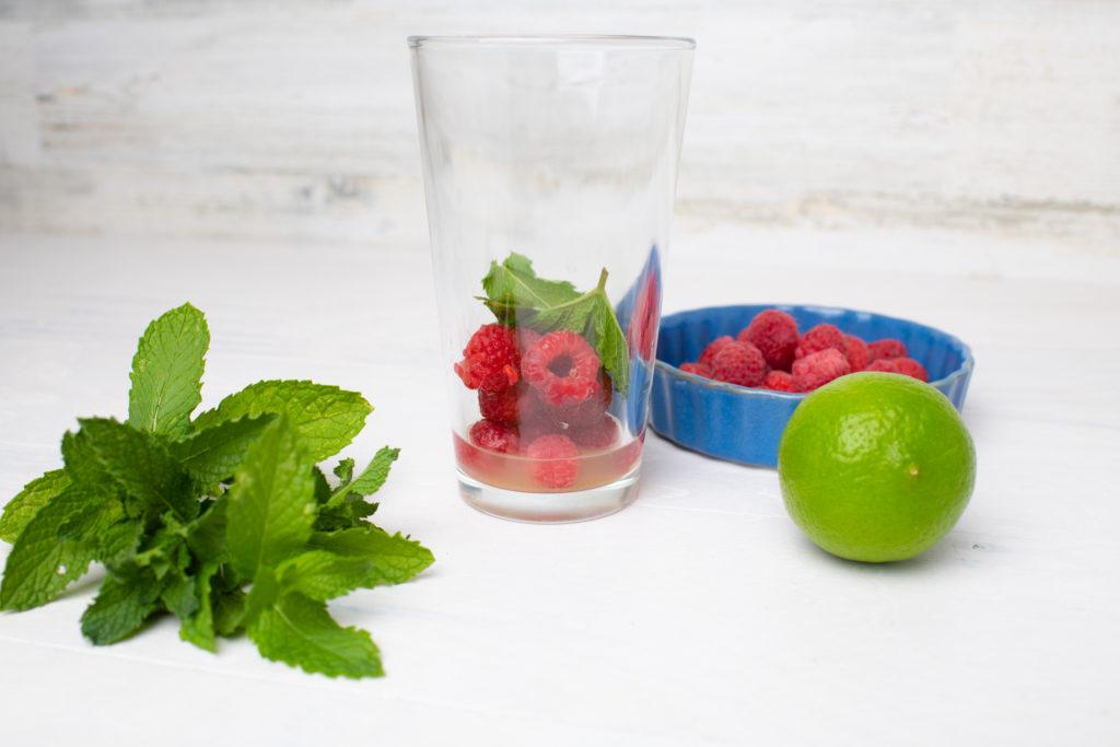 Raspberry Mint Mojito Ingredients