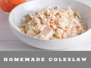 Easy Homemade Coleslaw
