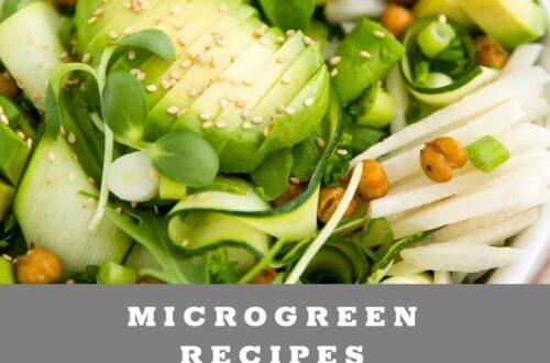 Microgreen Recipe Ideas